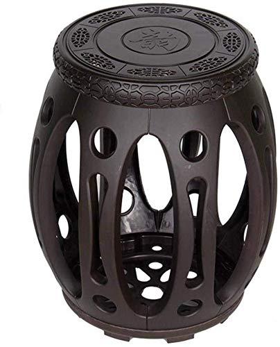 QTQZDD kaptafel kruk | elegant design multifunctioneel huishoudcreatief, 3045 cm woonkamerstoel (kleur: imitatie van rood sandelhout, maat: klein) 2 2