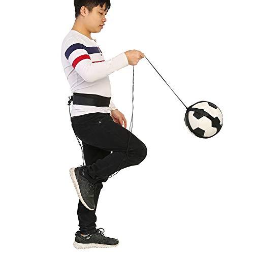 SHYEKYO Ayuda de Entrenamiento de fútbol, Entrenador de Entrenamiento de práctica de Habilidades de fútbol, Nailon elástico calificado de Larga duración para Practicar para Adultos