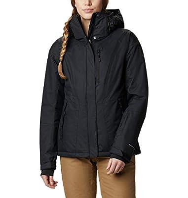 Columbia Women's Last Tracks Insulated Jacket, Black, XX-Large