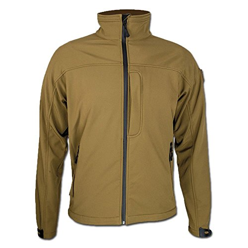 Highlander Softshell Jacke Odin Khaki Größe XL