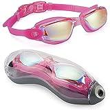 FIRMLEILEI Gafas de natación Gafas Anti-Niebla de natación...