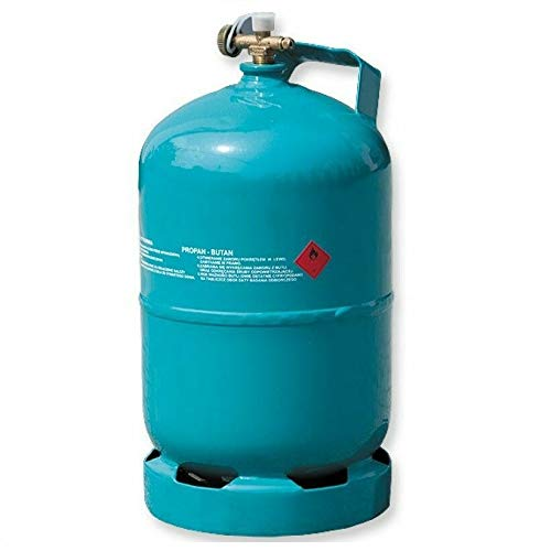 Leere befüllbare Gasflasche 5 kg / 12,3L Camping Grill Boot Propan Butan Gas