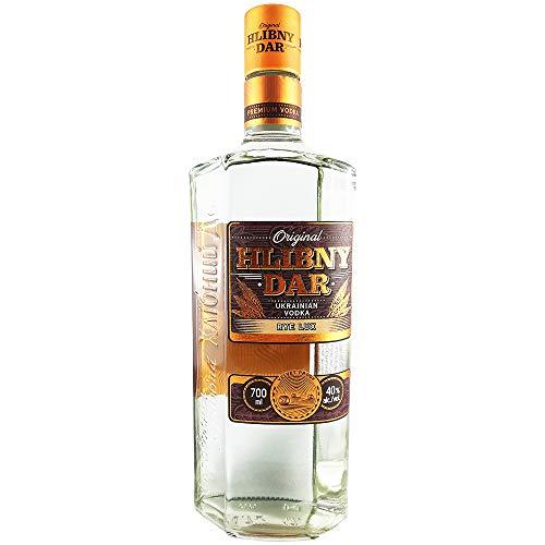 Vodka Hlebnij Dar Rye Lux 0,7L ukrainischer Wodka