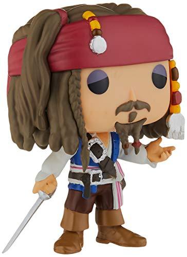 Funko 7105 Disney: Pirates 7105 POP Vinyl Jack Sparrow Figure, Multi-Colored