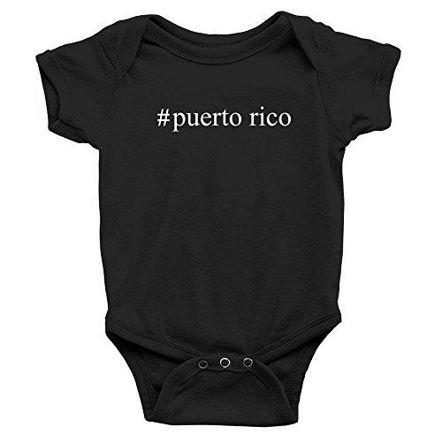 Teeburon Puerto Rico Hashtag Body de bebé