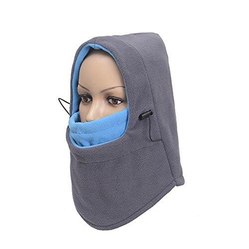 Preisvergleich Produktbild Yonfan Polar fleece Kälteschutz Gesichtsmaske Sturmhaube Nackenwärmer für Motorrad,  Fahrrad,  Ski Winter Sport Gesichtswärmer Eine Größe für Alle