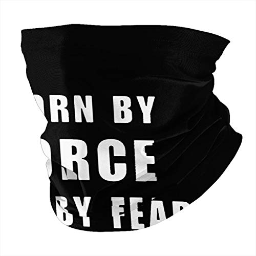 Worn By Force NOT by Fear Unisex multifunctional seamless neck scarf headscarf face mask mask dustproof and sunscreen soft texture