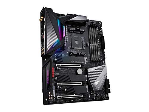 GIGABYTE X570 AORUS Master (AMD Ryzen 3000/X570/ATX/PCIe4.0/DDR4/USB3.1/ESS 9118 Sabre HiFi DAC/Fins-Array Heatsink/RGB Fusion 2.0/3xM.2 Thermal Guard/Gaming Motherboard)