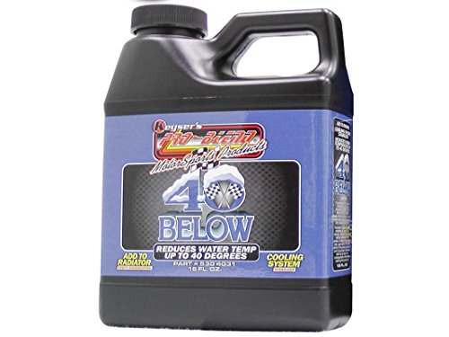 Keyser's Pro Blend 40 Below - Engine Coolant Additive, Powerful Radiator Water treatment - Antifreeze Coolant Concentrate Additive - Compatible With Most Antifreeze Coolant