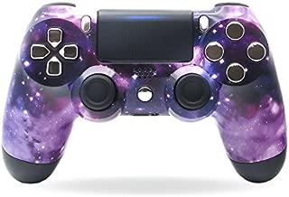 Controlador inalámbrico Sony PS4 DualShock 4 PlayStation 4 - Diseño personalizado de Purple Nebula Galaxy Stars sin modificaciones