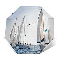 海洋 セーリング 折りたたみ傘 自動傘 ワンタッチ式 おしゃれ 耐強風 超撥水 晴雨兼用 梅雨対策 メンズ レディース ビッグサイズ