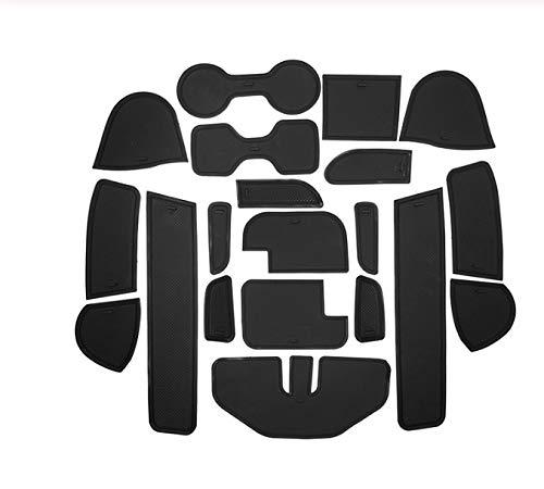 linfei Für Nissan Navara Np300 D23 rutschfeste Gummischale Tür Nut Matte 2015-2019 Zubehör Auto Aufkleber Auto Styling