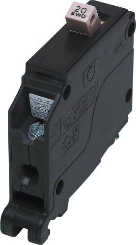 Cutler Hammer CH120 Circuit Breaker, 1-Pole 20-Amp