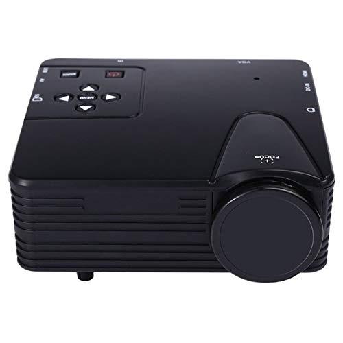ASEROX 3D 1080P HD Reproductor Multimedia Home Cinema Teatro Mini Proyector LED USB AV TV VGA HDMI