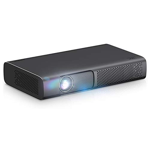 Proyector DLP 2000 ANSI Smart DLP Proyector T615 para 1080P 4K Video Mini Beamer WiFi Android 3D Home Cinema