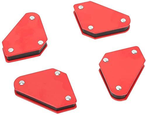 FTVOGUE 4 UNIDS Soportes de Soldadura Magnética Localizador de Ángulo Localizador de Esquina Flechas Soldador Triángulo Soldadura Herramienta 9LB