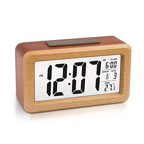 Despertador Digital Madera  marca BIOBEY