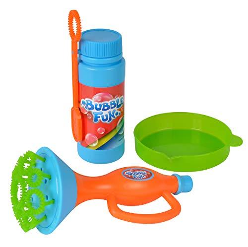 Simba 107282327 Bubble Fun Seifenblasen Trompete, Mehrfarbig