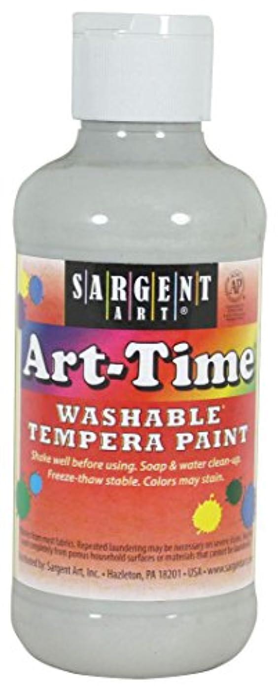 Sargent Art 17-4196 8 Ounce Art-Time Washable Tempera Paint White