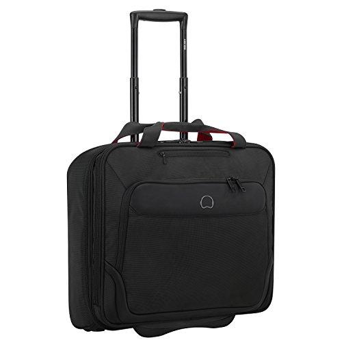DELSEY PARVIS PLUS Laptop Rollkoffer, 44 cm, 33 liters, Schwarz (Noir)