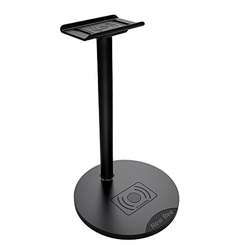 KKmoon Novo carregador sem fio Bee Headset Stand sobre fone de ouvido Suporte de carregamento sem fio para 11 Pro Max XS Max XR 8 Plus Mate 30 Pro P40 Pro Plus Note 10 9 S10 Plus S10 S9 Plus