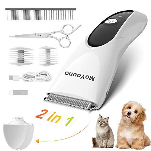 MoYouno Clippers for Grooming Pet Hair