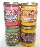 Smoke Odor Exterminator 13 oz Jar Candles Trippy Hippie Assorted (4) Includes Trippy Hippie, Mai Tai, 420 & Starstruck.