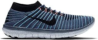 Nike Women's W Free RN Motion Flyknit, Gamma Blue/White-BLK-Hypr VLT