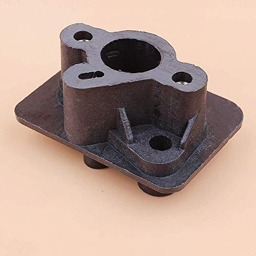 BLTR Herramientas 2pcs / Lot 43cc 52cc 40-5 colector de admisión del carburador Adaptador de Base del Conector de Carb Cortadora de cesped desmalezadoras Piezas De Confianza