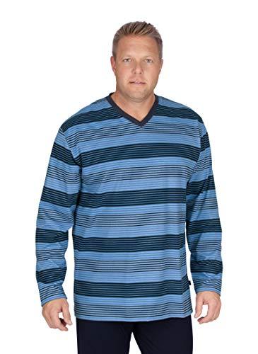 Trigema 637769119 Camiseta, Azul Celeste, XXX-Large para Hombre