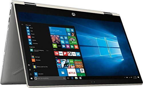 HP Pavilion x360 14' FHD WLED Touchscreen 2-in-1 Convertible Laptop, Intel Quad-Core i5-8250U 1.60GHz up to 3.4GHz, 8GB DDR4, 256GB SSD, WiFi,...