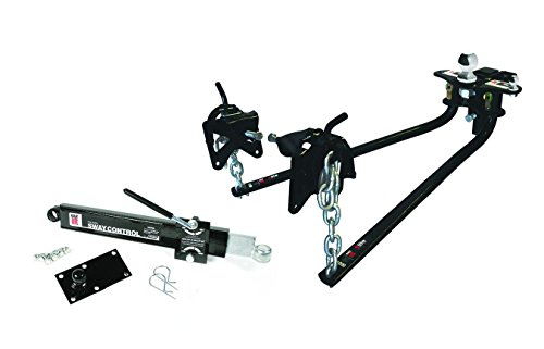 EAZ LIFT 48058 1000 lbs Elite Kit, Includes Distribution, Sway Control and 2-5/16' Hitch Ball-1,000 lbs Tongue Weight Capacity (48058-A)