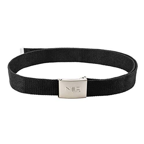 NEO TOOLS Profi Arbeitsgürtel 130 cm Handwerkergürtel Gürtel schwarz Metallschnalle mit...
