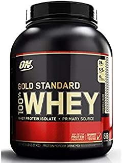 Optimum Nutrition Whey Gold Standard, Cookies And Cream, 5 Lbs 68 Servings
