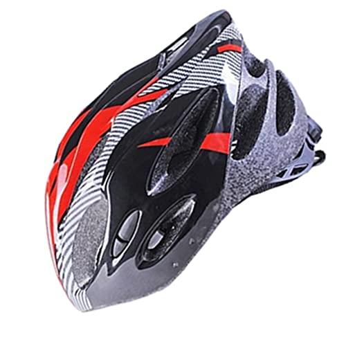 LXLAMP Casco MTB, Casco Ciclismo Carretera Casco Bicicleta Adulto Casco Specialized Casco de Ciclismo Deportivo Transpirable de Fibra de Carbono para Bicicleta de montaña
