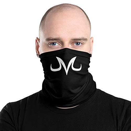 Majin M Symbol Resuable Neck Gaiter, Face Mask, Face Cover, Scarf, Dust Shield