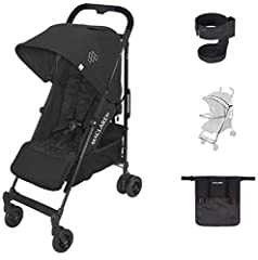 Lightweight and Compact ; The Quest arc's basic weight is 13.7lb; ideal for newborns and children up to 55lb; You can do it all with one-hand- open, close, push and adjust the seat, footrest and front safety lock; The stroller comes fully assembled C...