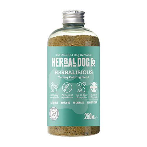 Tummy Calming | Digestive Blend | Natural Supplement | Dog & Puppy | 250ml | Powder Formula | 1 to 2 Month Supply | Wellbeing | Good Health | Digestive Upset