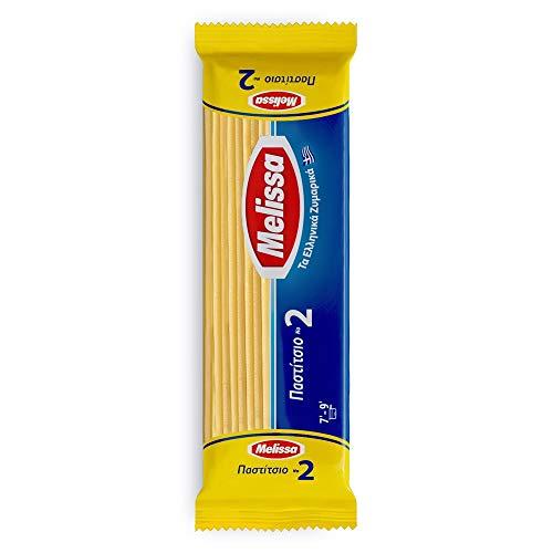 Spaghetti Nudeln (8x 500g) griechische Pasta | pastizio, pasticcio | Teigware | nudeln Großpackung (N2 Nudeln 8x500g)