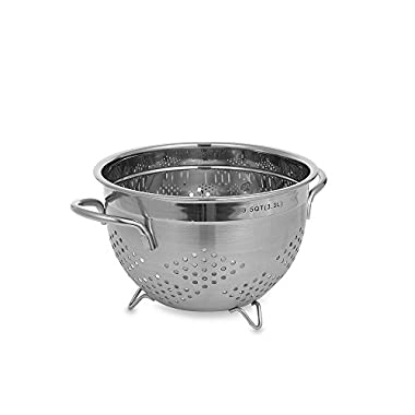 Sturdy Stainless Steel Colander (3.5 qt.)