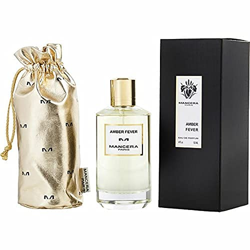 100% Auténtica MANCERA AMBER FEVER Eau de Perfume 120ml Made in France + 2 Muestras Mancera + 30ml Skincare