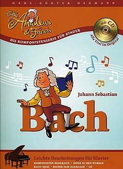 JOHANN SEBASTIAN BACH - gearrangeerd voor piano - met CD [Noten / Sheetmusic] Componis: Bach Johann Sebastian uit de serie: LITTLE AMADEUS