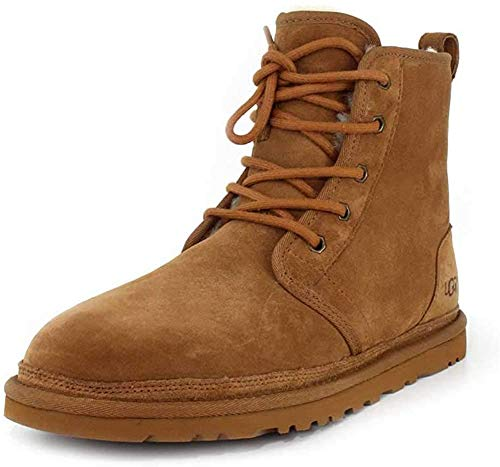 UGG Men's Harkley Winter Boot, Chestnut, 11 M US