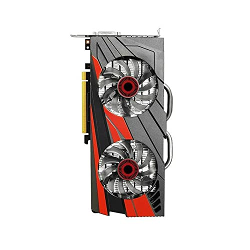 Newwiee Tarjeta Raphic GTX 960 2GB 4GB 1050TI 4GB 1060 3GB Tarjetas de Video GPU DVI HDMI DP Soporte AMD Intel Desktop Fit for Tarjetas gráficas de computadora ASUS(Color:GTX-960-4GB)
