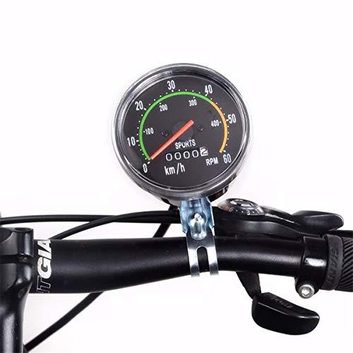 GIAO Computadora para Bicicleta, Bicicleta Computadora Mecánico Clásico Retro Ciclismo Cuentakilómetros Cronómetro...