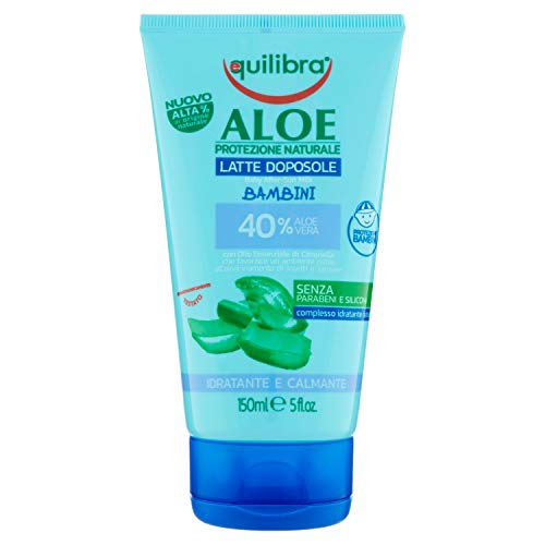 Equilibra Aloe Latte Doposole Bambini, 150 ml