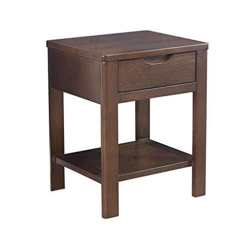 RCLD Nachttische Schlafzimmermöbel Schrank Kommode Massivholzschublade Niedrige Lagerung (Color : Brown, Size : 40 * 35 * 50cm)