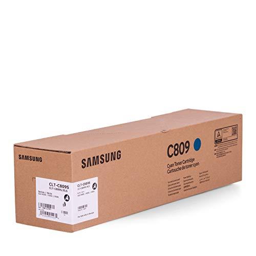 Original Samsung CLT-C809S (SS567A) / C809, für CLX-9201 Premium Drucker-Kartusche, Cyan, 15000 Seiten