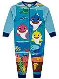 Pinkfong Pigiama a Tuta Intera per Ragazzi Baby Shark Blu 5-6 Anni