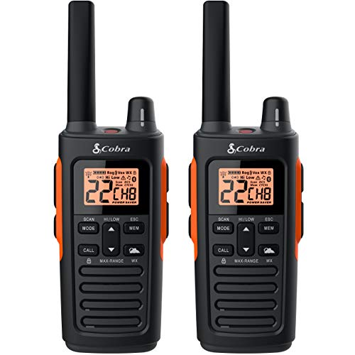 Best Long Range Walkie Talkie cobra